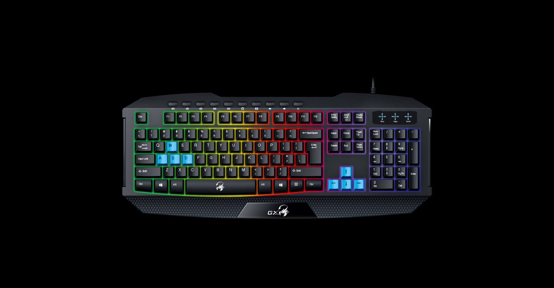 Genius Scorpion K215 Gaming Keyboard With Backlight
