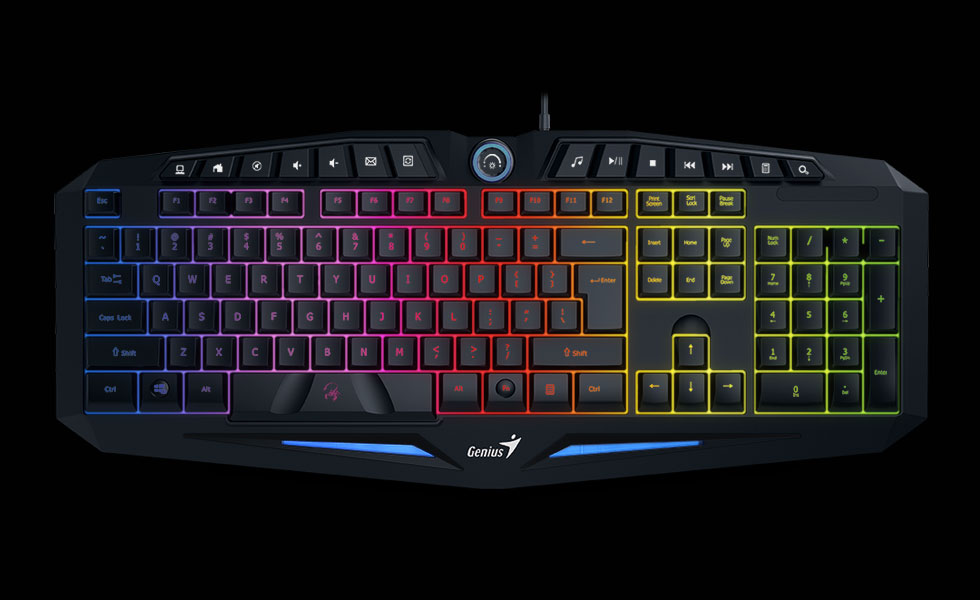 Genius Scorpion K9 - gaming keyboard with backlight, anti