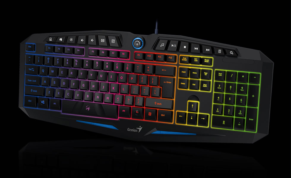 Genius Scorpion K9 Gaming Keyboard With Backlight Anti