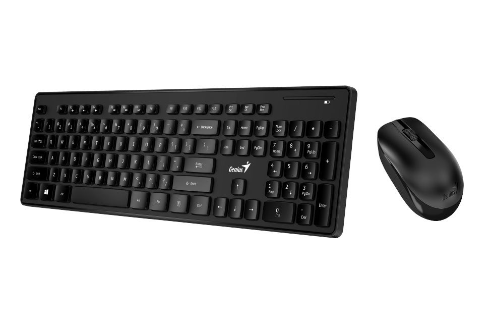 cf6d47cdd4c Genius Wireless Smart Keyboard and Mouse Combo with Smart Keys ...