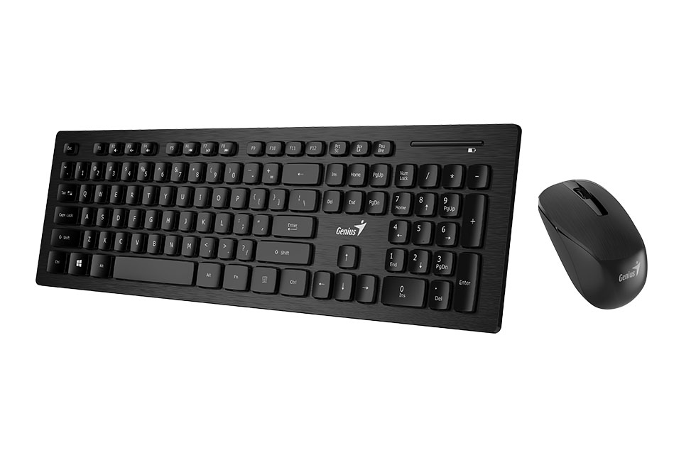 Genius Wireless Smart Keyboard And Mouse Combo With Smart