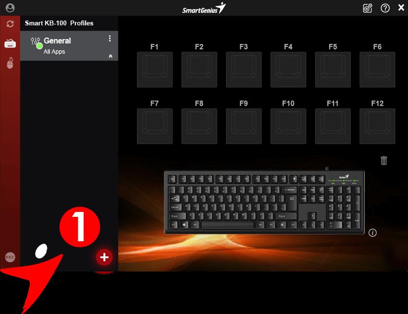 Genius Smart keyboard with Genius Key - Smart KB-100