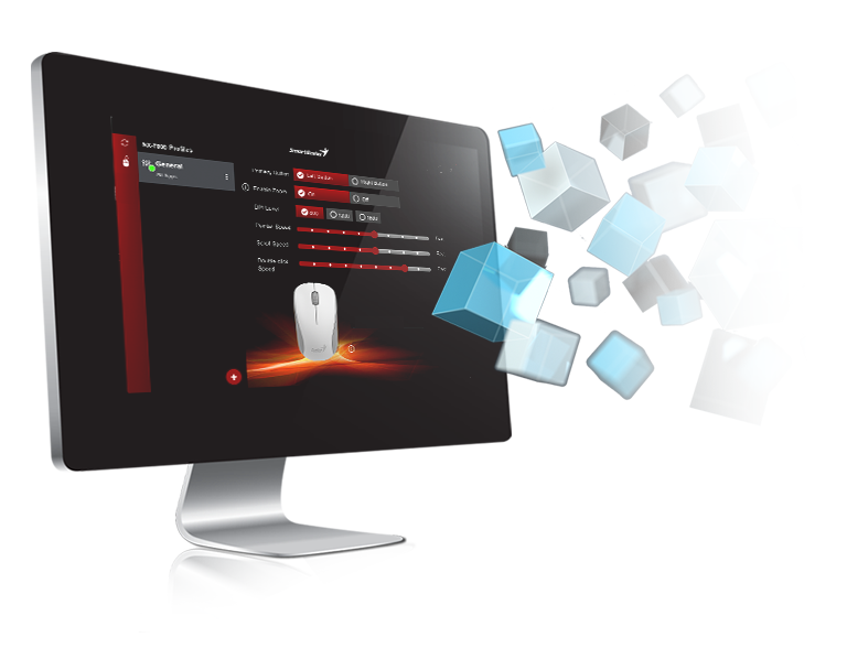 Genius Nx 7000 Wireless Stylish Mouse